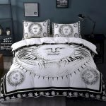 Black and White Bedding Sets For Your Dramatic Bedroom 26