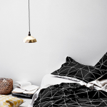 Black and White Bedding Sets For Your Dramatic Bedroom 32