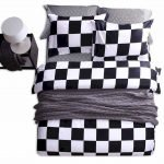Black and White Bedding Sets For Your Dramatic Bedroom 34