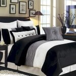 Black and White Bedding Sets For Your Dramatic Bedroom 50