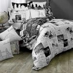 Black and White Bedding Sets For Your Dramatic Bedroom 54