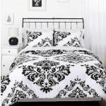 Black and White Bedding Sets For Your Dramatic Bedroom 64