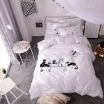 Black and White Bedding Sets For Your Dramatic Bedroom 69