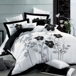 Black and White Bedding Sets For Your Dramatic Bedroom 75