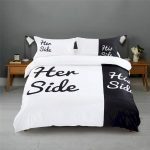 Black and White Bedding Sets For Your Dramatic Bedroom 79