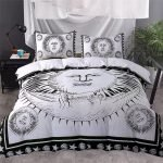 Black and White Bedding Sets For Your Dramatic Bedroom 80