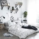 Black and White Bedding Sets For Your Dramatic Bedroom 83