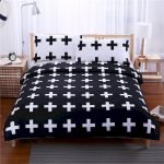Black and White Bedding Sets For Your Dramatic Bedroom 89