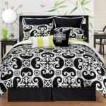 Black and White Bedding Sets For Your Dramatic Bedroom 106