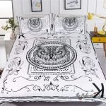 Black and White Bedding Sets For Your Dramatic Bedroom 115