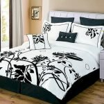 Black and White Bedding Sets For Your Dramatic Bedroom 121