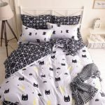 Black and White Bedding Sets For Your Dramatic Bedroom 122