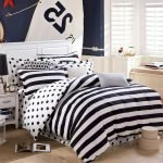 Black and White Bedding Sets For Your Dramatic Bedroom 124