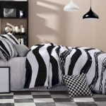 Black and White Bedding Sets For Your Dramatic Bedroom 134
