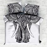 Black and White Bedding Sets For Your Dramatic Bedroom 140