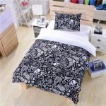Black and White Bedding Sets For Your Dramatic Bedroom 142