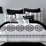 Black and White Bedding Sets For Your Dramatic Bedroom 145