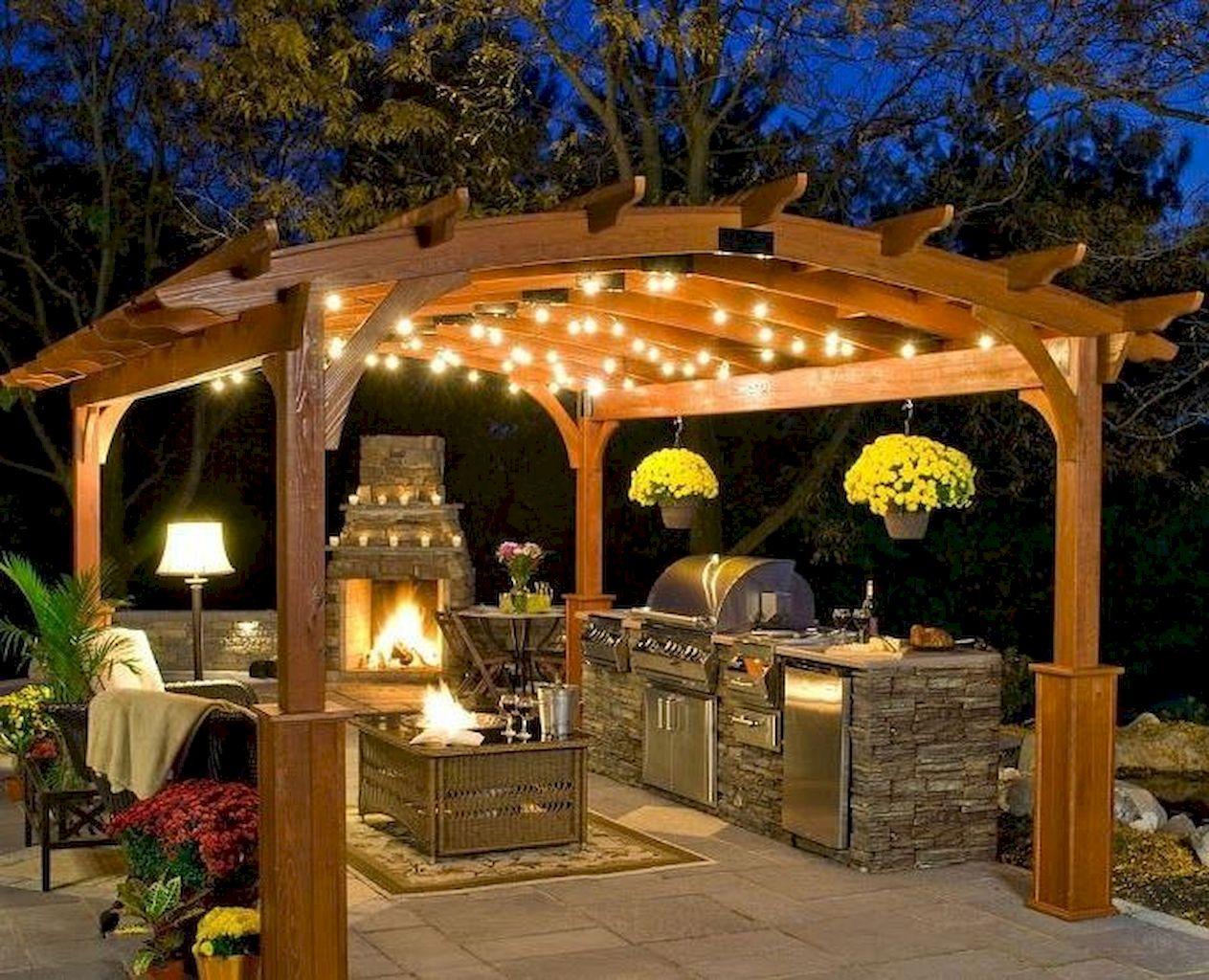 Backyard Fireplace002