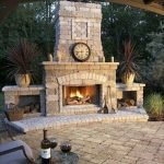 Ultimate Backyard Fireplace Sets The Outdoor Scene 110