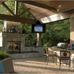 Ultimate Backyard Fireplace Sets The Outdoor Scene 114