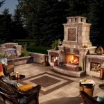 Ultimate Backyard Fireplace Sets The Outdoor Scene 115