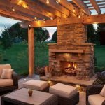 Ultimate Backyard Fireplace Sets The Outdoor Scene 120