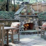 Ultimate Backyard Fireplace Sets The Outdoor Scene 122