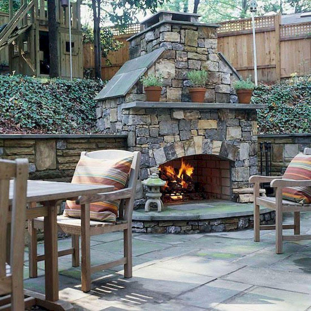 Backyard Fireplace016
