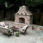 Ultimate Backyard Fireplace Sets The Outdoor Scene 123