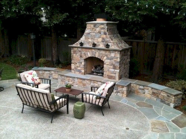 Backyard Fireplace017