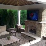 Ultimate Backyard Fireplace Sets The Outdoor Scene 126