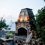 Ultimate Backyard Fireplace Sets The Outdoor Scene 127