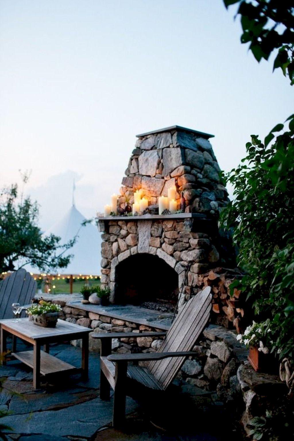 Backyard Fireplace021