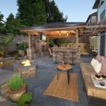 Ultimate Backyard Fireplace Sets The Outdoor Scene 128