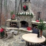Ultimate Backyard Fireplace Sets The Outdoor Scene 129