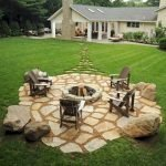 Ultimate Backyard Fireplace Sets The Outdoor Scene 132