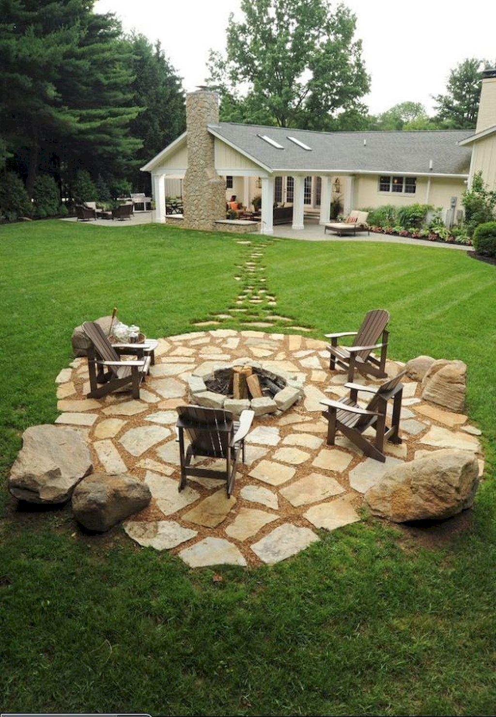 Backyard Fireplace026