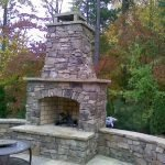 Ultimate Backyard Fireplace Sets The Outdoor Scene 133