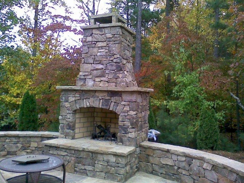 Backyard Fireplace027
