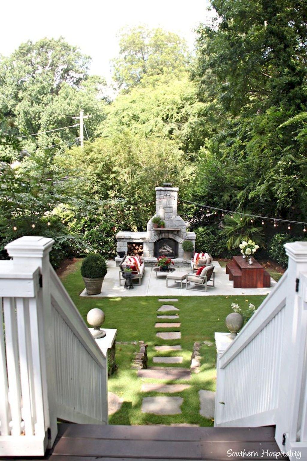Backyard Fireplace028
