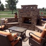 Ultimate Backyard Fireplace Sets The Outdoor Scene 135