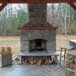 Ultimate Backyard Fireplace Sets The Outdoor Scene 136