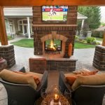 Ultimate Backyard Fireplace Sets The Outdoor Scene 137