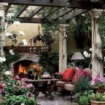 Ultimate Backyard Fireplace Sets The Outdoor Scene 138