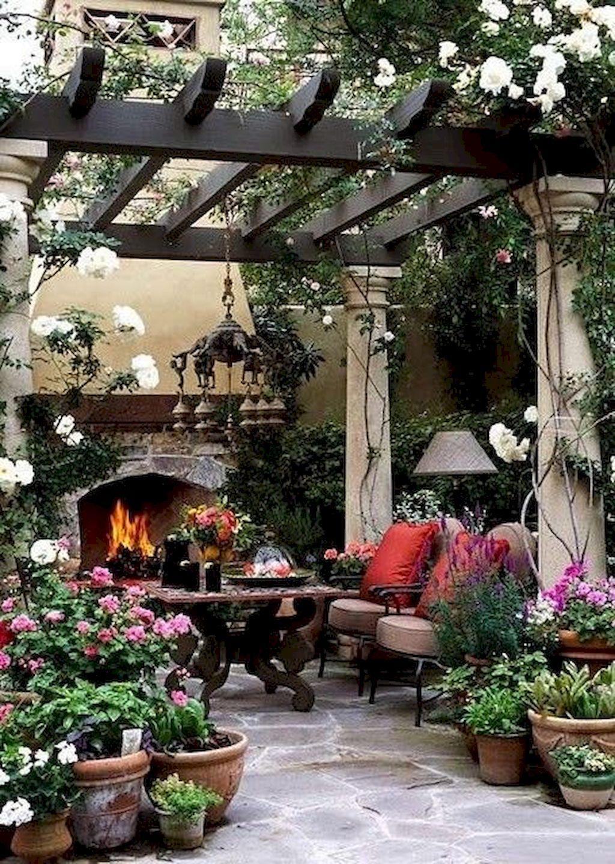 Backyard Fireplace032