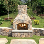 Ultimate Backyard Fireplace Sets The Outdoor Scene 139