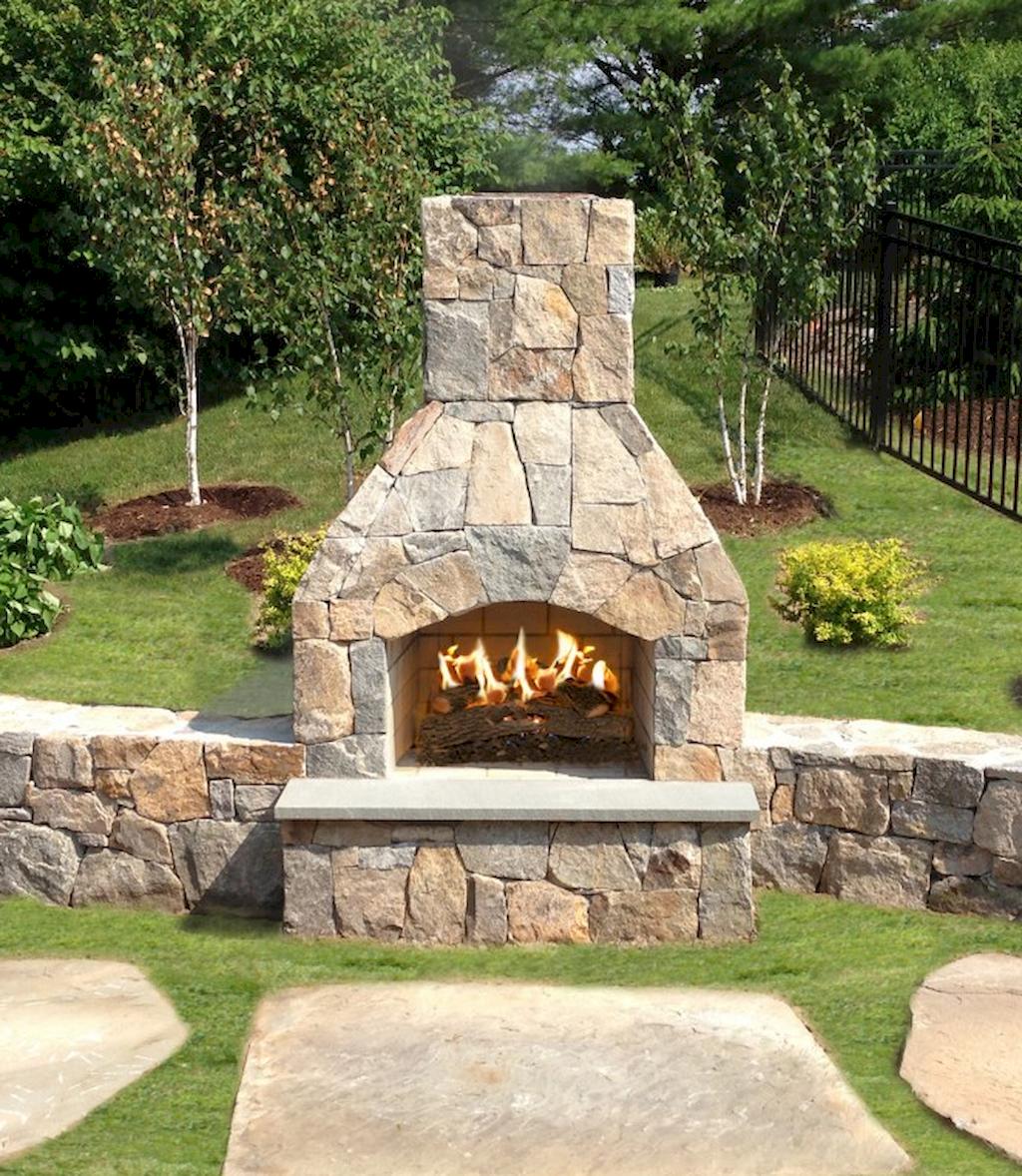 Backyard Fireplace033