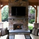 Ultimate Backyard Fireplace Sets The Outdoor Scene 140