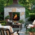 Ultimate Backyard Fireplace Sets The Outdoor Scene 143