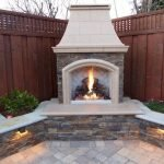 Ultimate Backyard Fireplace Sets The Outdoor Scene 146